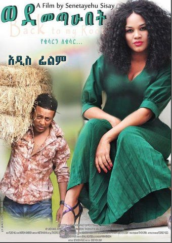 Ethiopian movie Wedemetahubet (ወደ መጣሁበት)(2000) Poster